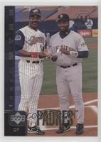 Tony Gwynn (Posed with Eddie Murray)