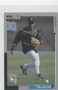 1998 Upper Deck Collector's Choice - [Base] - Jumbos #95 - Gary Sheffield