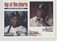 Top of the Charts - Frank Thomas, Tony Gwynn (Home Plate Hologram)