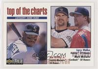 Top of the Charts - Larry Walker, Ken Griffey Jr., Mark McGwire (Diamond Hologr…