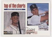 Top of the Charts - Andres Galarraga, Ken Griffey Jr. (Diamond Hologram)