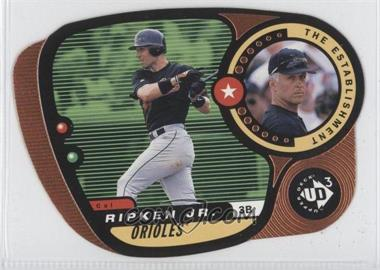 1998 Upper Deck UD3 - [Base] - Die-Cut #155 - Cal Ripken Jr. /1000
