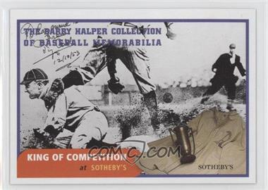 1999 Barry Halper Collection of Baseball Memorabilia Sotheby's - [Base] #10 - Ty Cobb
