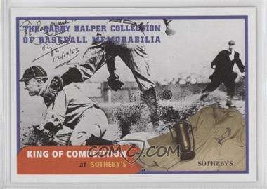 1999 Barry Halper Collection of Baseball Memorabilia Sotheby's - [Base] #10 - Ty Cobb