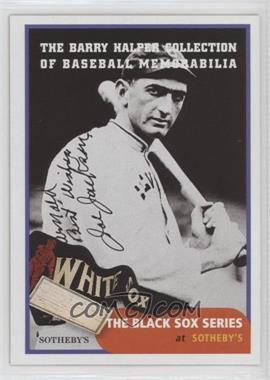 1999 Barry Halper Collection of Baseball Memorabilia Sotheby's - [Base] #5 - Joe Jackson