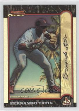 1999 Bowman Chrome - [Base] - International Refractors #234 - Fernando Tatis /100