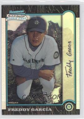 1999 Bowman Chrome - [Base] - International Refractors #404 - Freddy Garcia /100
