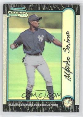 1999 Bowman Chrome - [Base] - Refractors #350 - Alfonso Soriano
