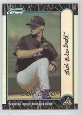 1999 Bowman Chrome - [Base] - Refractors #390 - Nick Bierbrodt