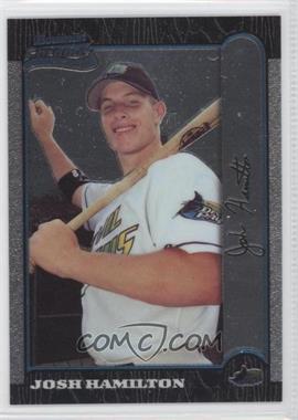 1999 Bowman Chrome - [Base] #431 - Josh Hamilton