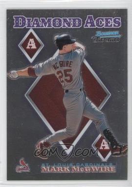 1999 Bowman Chrome - Diamond Aces #DA14 - Mark McGwire