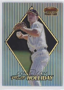 1999 Bowman's Best - [Base] - Refractor #172 - Matt Holliday /400