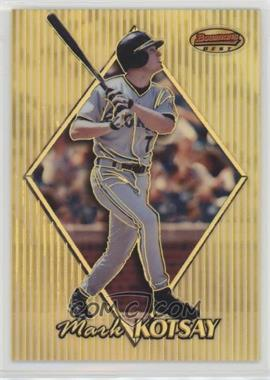 1999 Bowman's Best - [Base] - Refractor #68 - Mark Kotsay /400