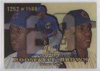 Roosevelt Brown #1252/1,500