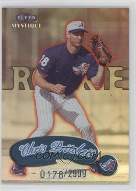 1999 Fleer Mystique - [Base] #125 - Chris Pritchett /2999