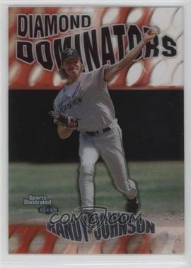 1999 Fleer Sports Illustrated - Diamond Dominators #3 DD - Randy Johnson