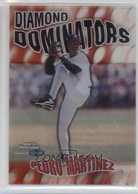 1999 Fleer Sports Illustrated - Diamond Dominators #5 DD - Pedro Martinez
