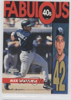 1999 Fleer Sports Illustrated - Fabulous 40s #12 FF - Alex Rodriguez