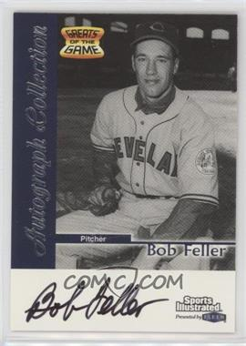 1999 Fleer Sports Illustrated Greats of the Game - Autographs #BOFE - Bob Feller