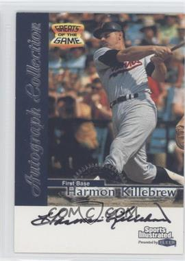 1999 Fleer Sports Illustrated Greats of the Game - Autographs #HAKI - Harmon Killebrew
