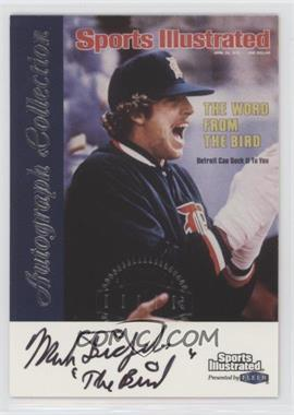 1999 Fleer Sports Illustrated Greats of the Game - Autographs #MAFR - Mark Fidrych