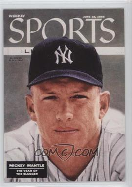 1999 Fleer Sports Illustrated Greats of the Game - Covers #2 C - Mickey Mantle