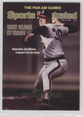 1999 Fleer Sports Illustrated Greats of the Game - Covers #37 C - Nolan Ryan