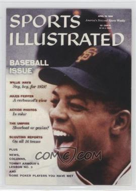 1999 Fleer Sports Illustrated Greats of the Game - Covers #6 C - Willie Mays