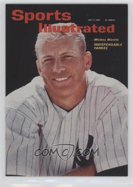 1999 Fleer Sports Illustrated Greats of the Game - Covers #9 C - Mickey Mantle