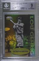 Lou Gehrig [BGS 9 MINT]