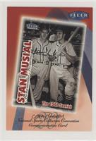 Stan Musial, Red Schoendienst [Good to VG‑EX]