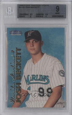 1999 Fleer Tradition Update - [Base] #U-122 - Josh Beckett [BGS 9]