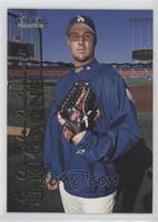 Eric Gagne Los Angeles Dodgers Rookie Card Baseball Cards