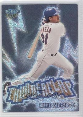 1999 Fleer Ultra - Thunderclap #12 TC - Mike Piazza