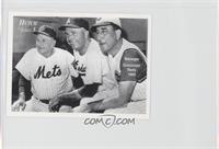 Casey Stengel, Walt Alston, Fred Hutchinson