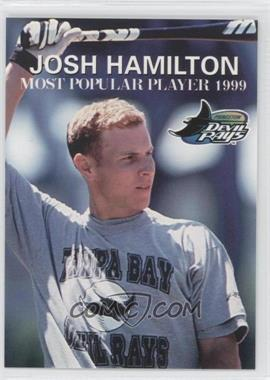 1999 Grandstand Princeton Devil Rays Josh Hamilton - [Base] #JOHA.3 - Josh Hamilton (Most Popular 1999)