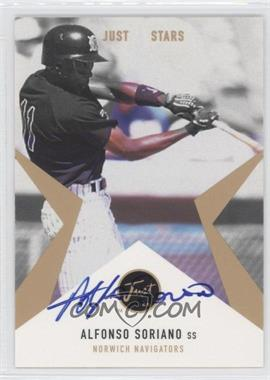 1999 Just Minors - Just Stars - Autographs [Autographed] #N/A - Alfonso Soriano /100