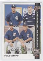 Ted Kubiak, Willie Aviles, Steve Lyons, Lee Slagle