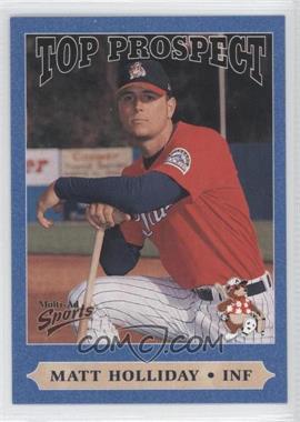 1999 Multi-Ad Sports South Atlantic League Top Prospects - [Base] #17 - Matt Holliday