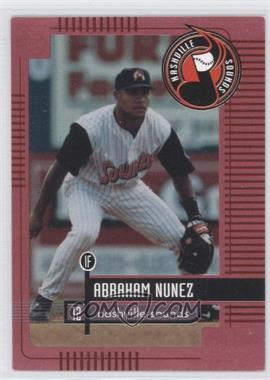 1999 Nashville Sounds Team Issue - [Base] #12 - Abraham Nunez