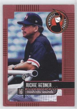 1999 Nashville Sounds Team Issue - [Base] #15 - Richie Hebner