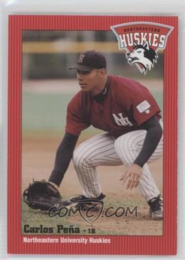 1999 Northeastern University Huskies Team Issue - [Base] #N/A - Carlos Pena