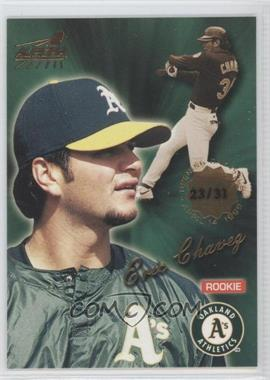 1999 Pacific Aurora - [Base] - Opening Day #133 - Eric Chavez /31