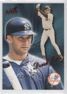 1999 Pacific Aurora - [Base] - Red #128 - Derek Jeter
