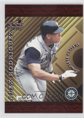 1999 Pacific Aurora - Complete Players #10A - Alex Rodriguez /299