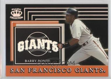 1999 Pacific Crown Collection - Team Checklist #26 - Barry Bonds
