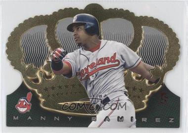 1999 Pacific Crown Royale - [Base] - Limited #45 - Manny Ramirez /99