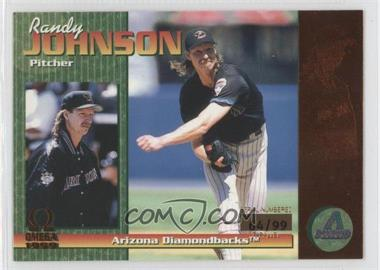 1999 Pacific Omega - [Base] - Copper #13 - Randy Johnson /99