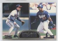 Raul Mondesi, Chipper Jones
