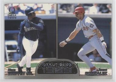 1999 Pacific Omega - Debut Duos #7 - Juan Gonzalez, Ken Griffey Jr.